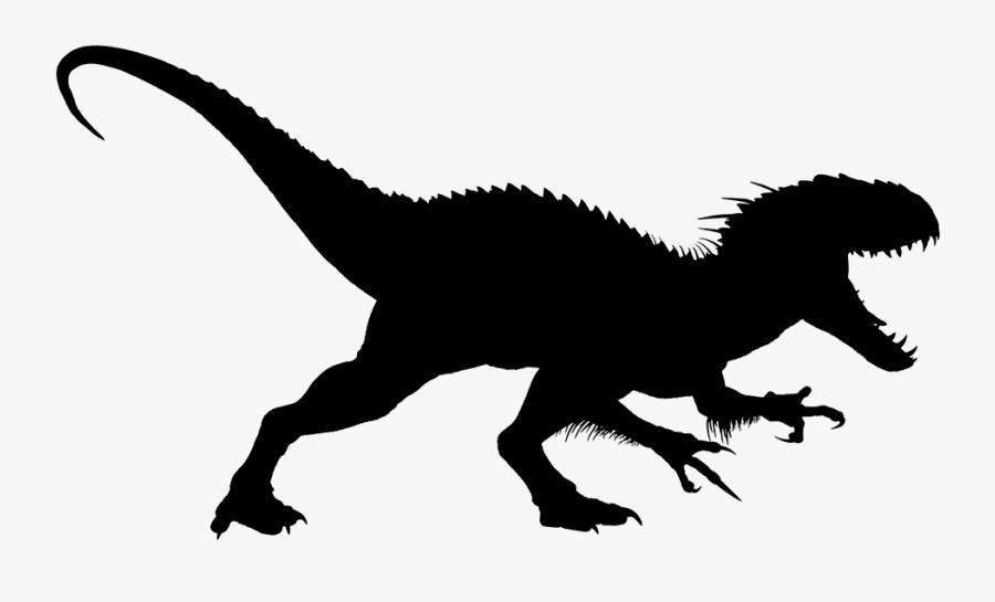 Jurassic World Clipart Jurassic Park - Jurassic World Silhouette, Transparent Clipart
