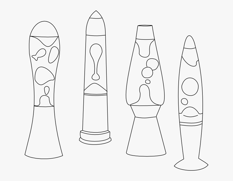 24+ Lava Lamp Coloring Page