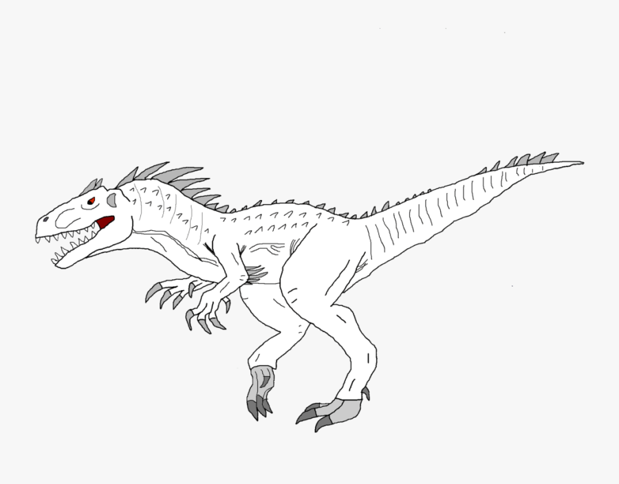image pages indominus rex a colouring of jurassic world free transparent clipart clipartkey image pages indominus rex a colouring