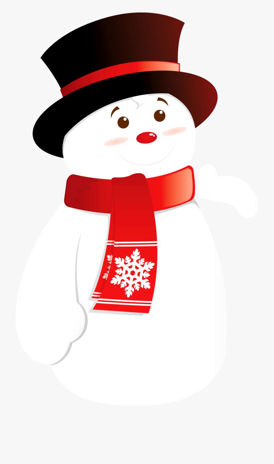 Snow Man Clip Art Transparent, Transparent Clipart