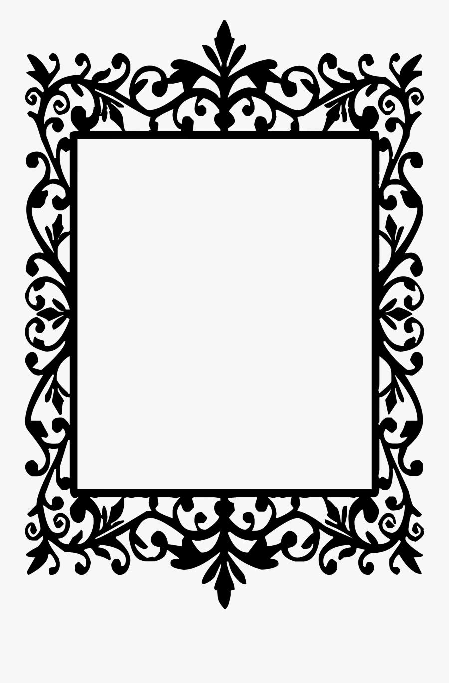 Vector Border Designs Png Clipart - Vintage Frame, Transparent Clipart
