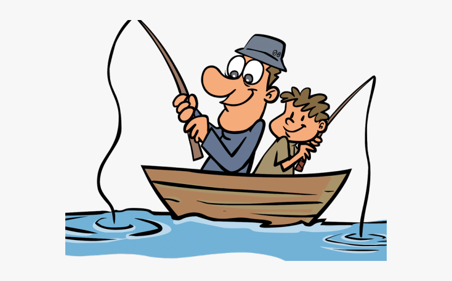 Fishing Images Clipart - Father And Son Fishing Cartoon ...