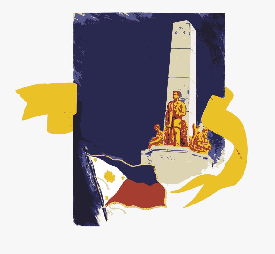 Clip Art Monument Clipart - Jose Rizal Monument Clipart, Transparent Clipart