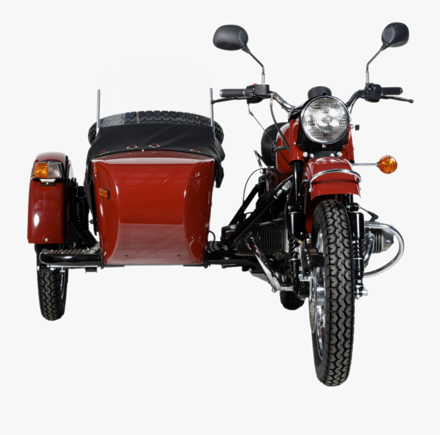 Transparent Bobber Clipart - Motorcycle Sidecar Front View, Transparent Clipart