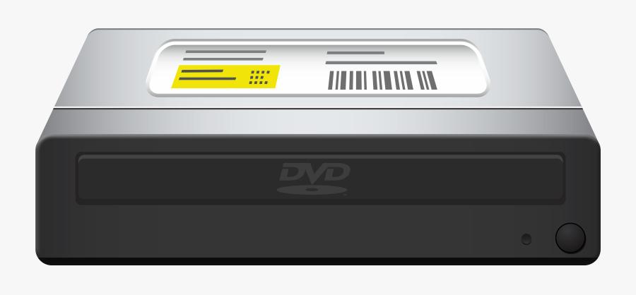 Black Internal Computer Dvd Drive Png Clipart - Computer Dvd Drive Png, Transparent Clipart