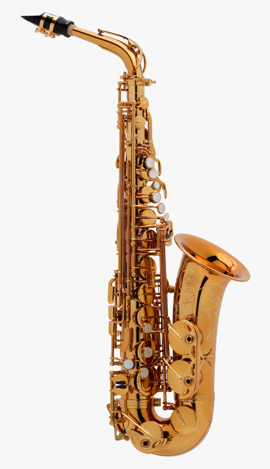 Alto Saxophone, Transparent Clipart