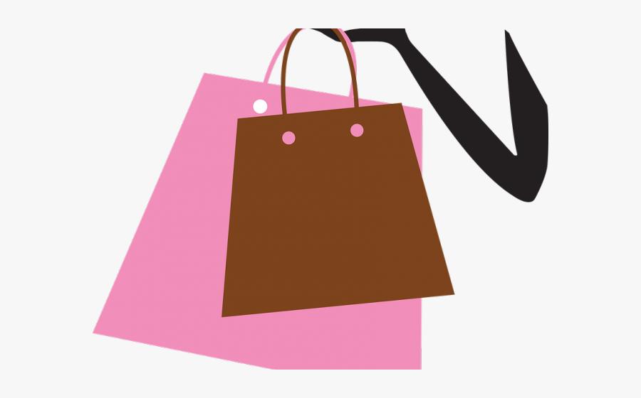 Shopping Bag Graphic - Sacola De Compras Png, Transparent Clipart