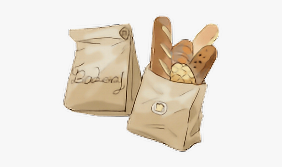 #bread #basket #freetoedit #귀여운 #picsart #cute #kawaii - Shoulder Bag, Transparent Clipart