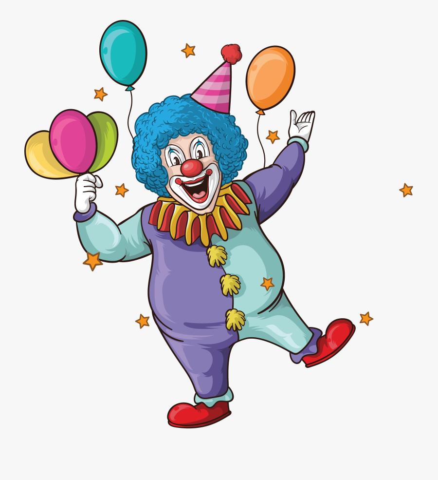 Wedding Invitation Clown Birthday Greeting Card, Transparent Clipart