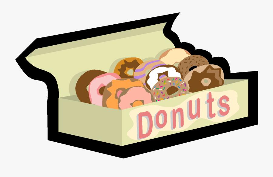 Taming Test Anxiety Mu - Donut Box Clip Art, Transparent Clipart