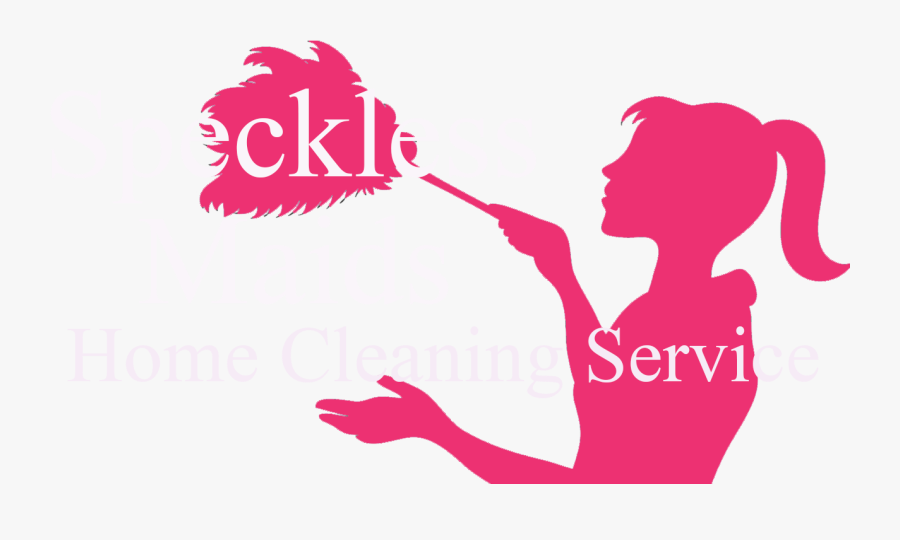 Maid Clipart Home Cleaning Service - Cleaning Services Logo With Maid, Transparent Clipart