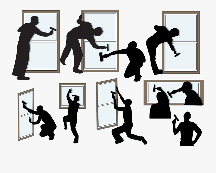 Transparent Window Clipart - Clean Window Silhouette, Transparent Clipart