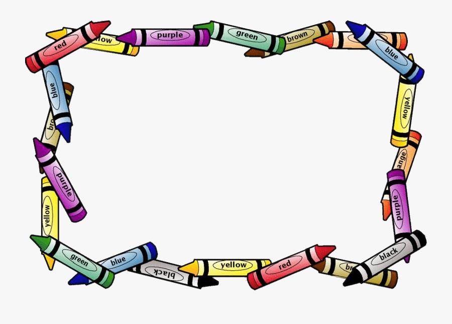 Transparent Escuela Png - Clip Art School Border, Transparent Clipart