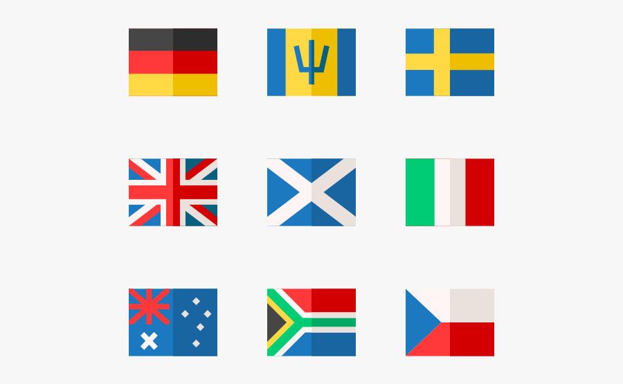 Country Flags - Graphic Design, Transparent Clipart