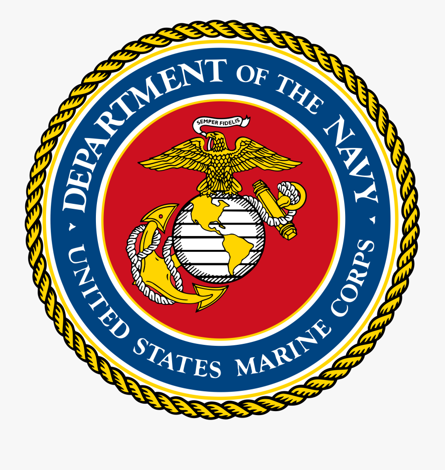 Eagle, Globe, And Anchor - United States Marine Corps Seal, Transparent Clipart