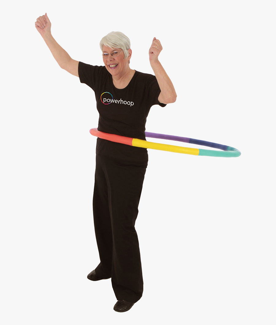 Hooping Hula Hoops Toy - Weighted Hula Hoop Effect, Transparent Clipart