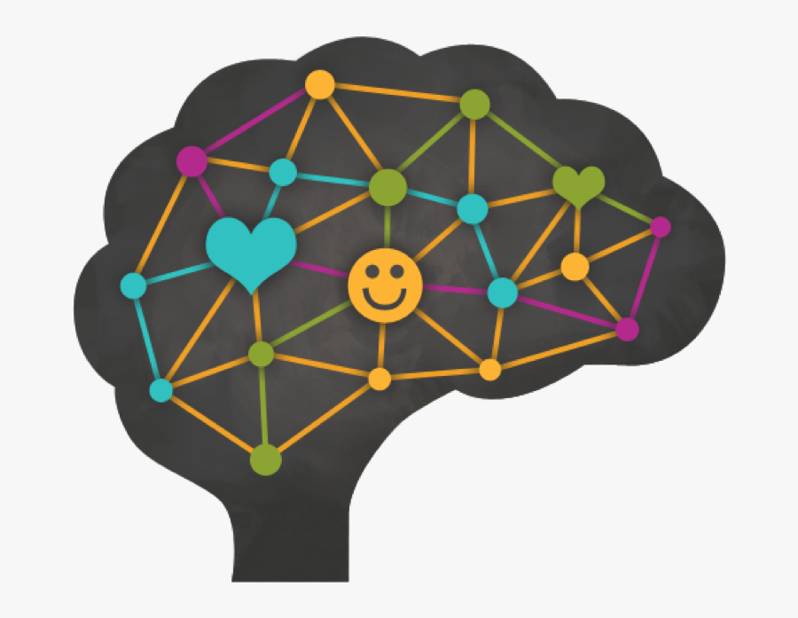 Happy Brain, Transparent Clipart