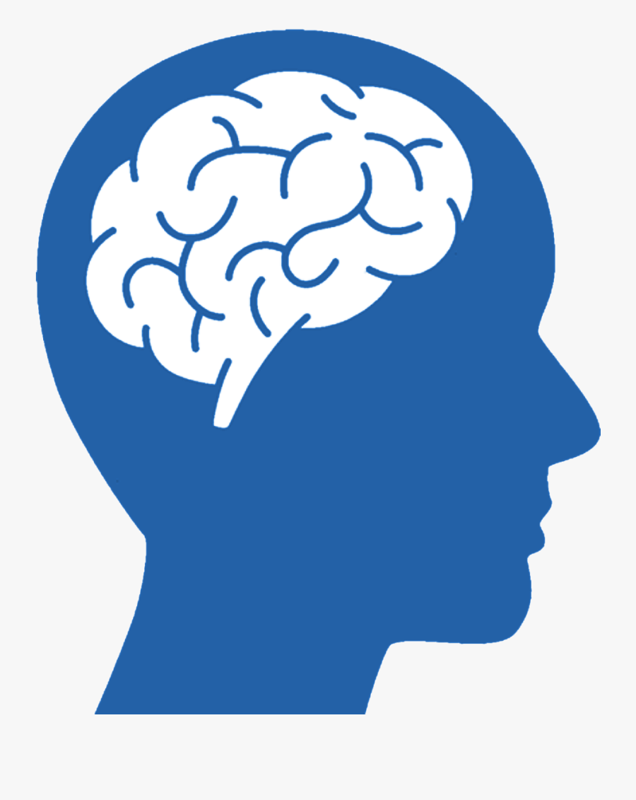 Brain Png Download - Brain With Head Logo, Transparent Clipart