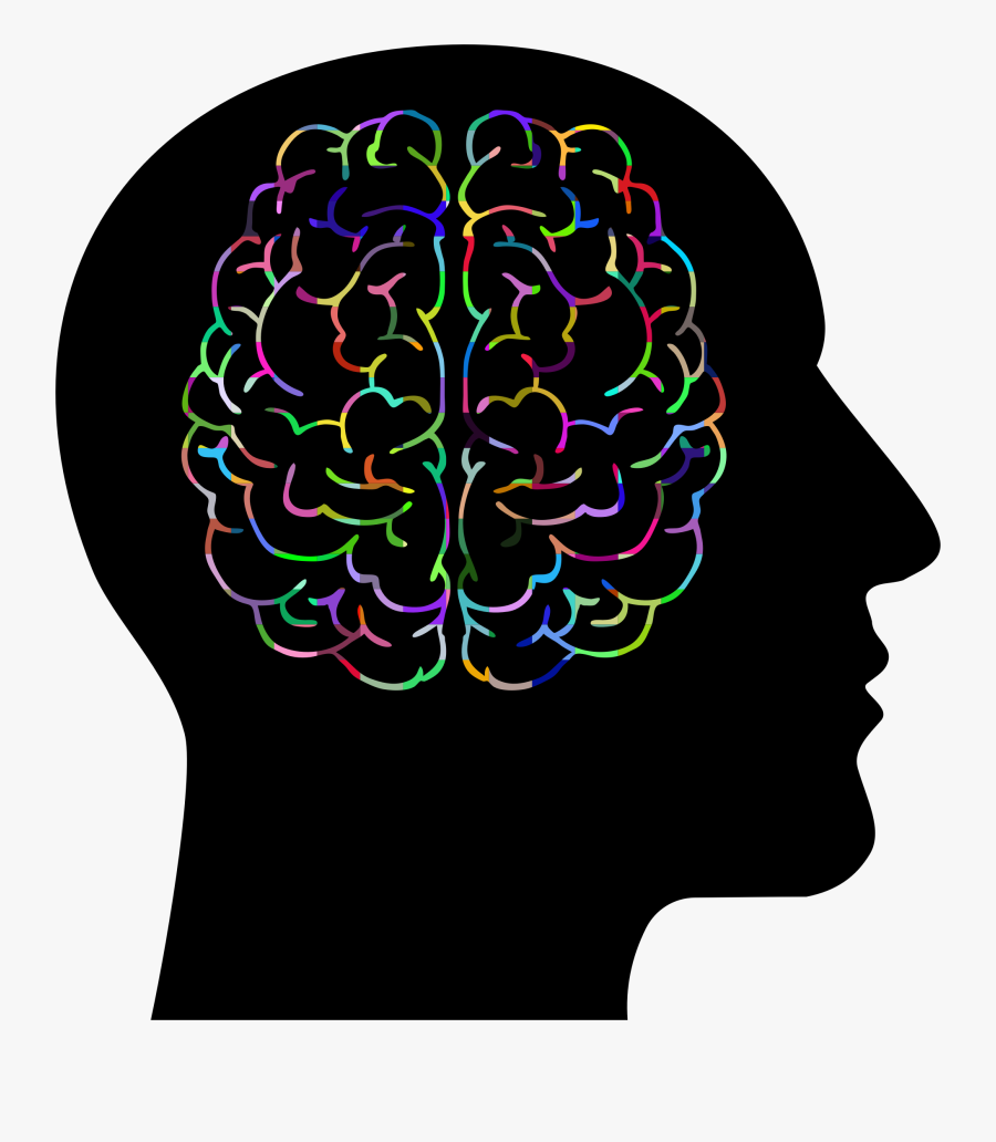 Brain In Head Png Clipart , Png Download - Brain And Lightbulb Clipart, Transparent Clipart