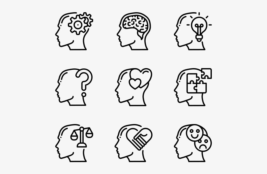 Human Mind - Icono Baby Shower, Transparent Clipart