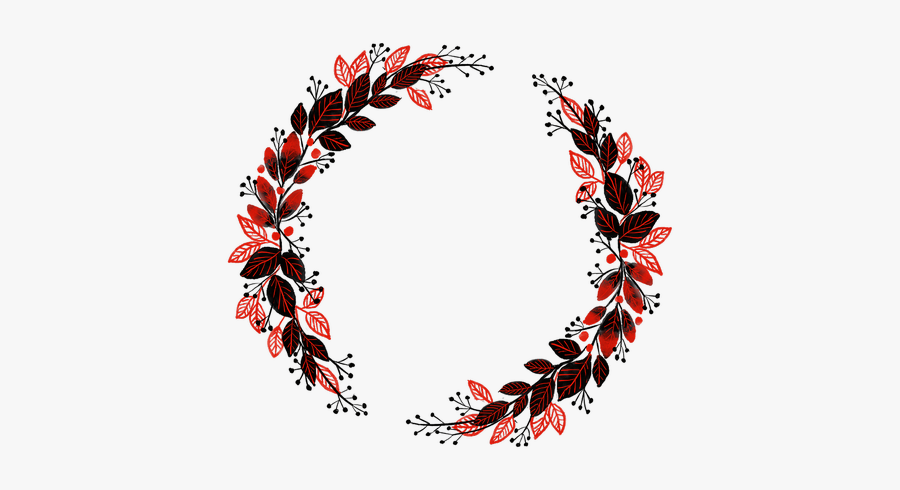 Watercolour Wreath Bouquet Ornament - Coroa De Flores Png, Transparent Clipart