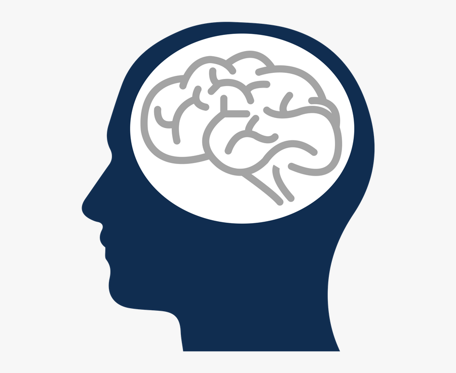 Person And Brain - Emotional Brain And Rational Brain, Transparent Clipart