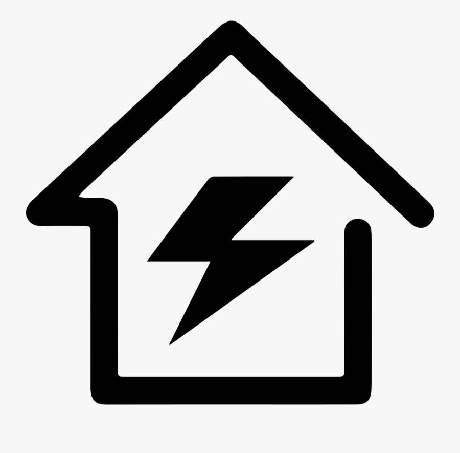 Black Power Station Png, Transparent Clipart
