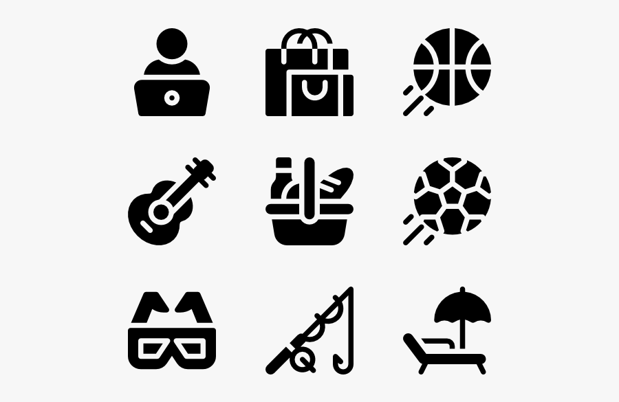 Hobbies Icon Png Free Transparent Clipart Clipartkey