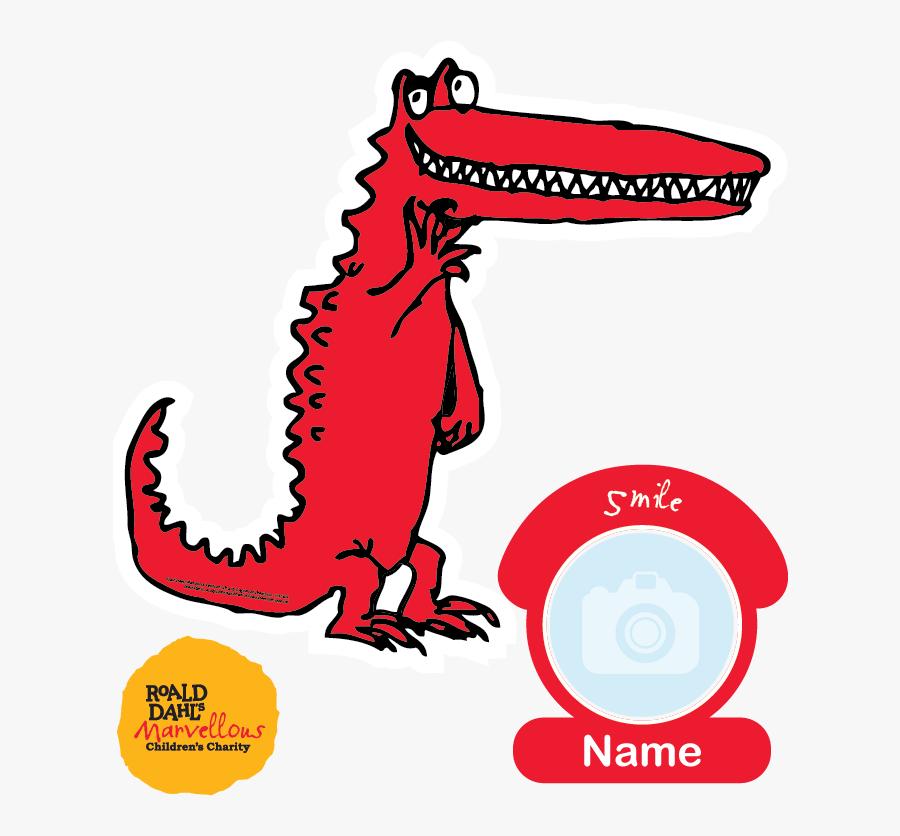 Marvin The Crocodile T-shirt - Roald Dahl Marvellous Children's Charity, Transparent Clipart