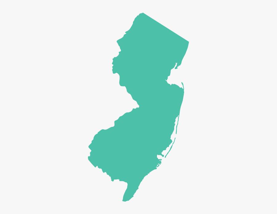 New Clip Art Transprent - New Jersey State Transparent, Transparent Clipart