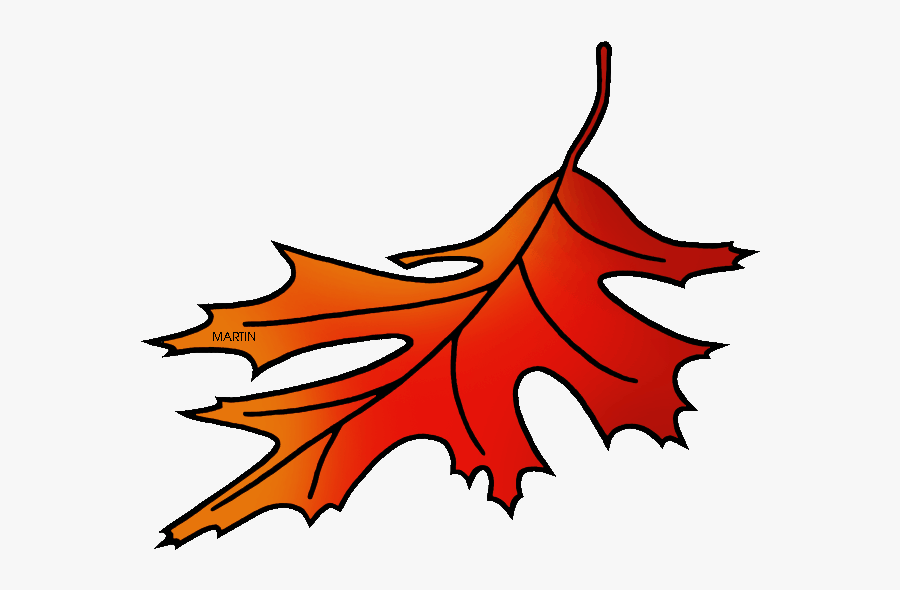 New Jersey State Tree - Red Oak Leaves Clip Art, Transparent Clipart