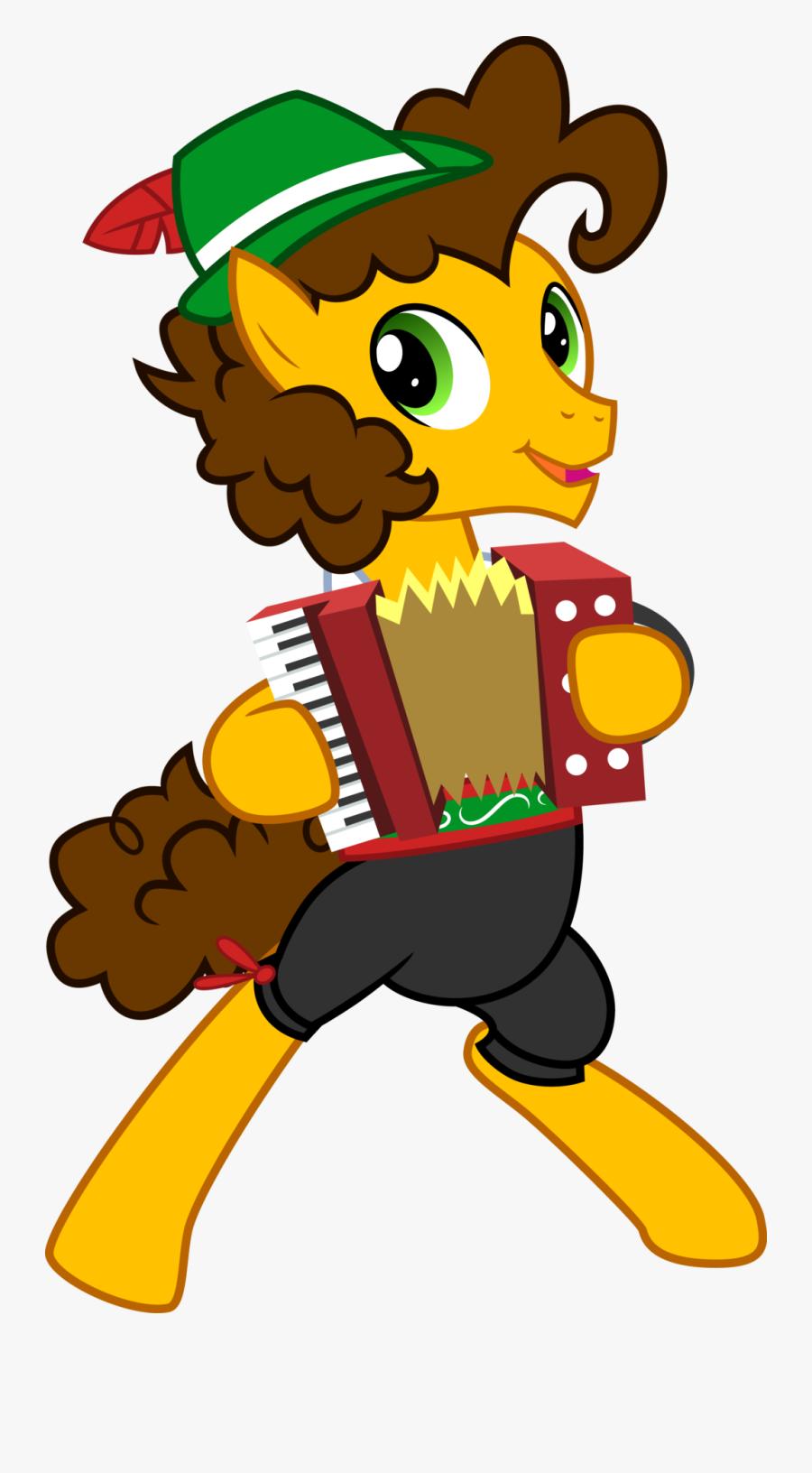 Banner Transparent Polka Clipart Accordion Player - Cheese Sandwich Accordion Mlp, Transparent Clipart