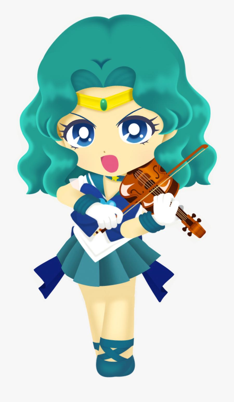 Transparent Sailor Neptune Png - Sailor Moon Drops Sailor Neptune, Transparent Clipart