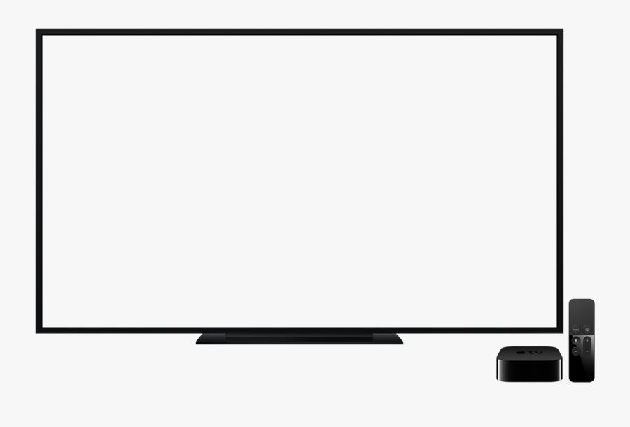 Led Tv Frame Png - Tv Frame No Background, Transparent Clipart