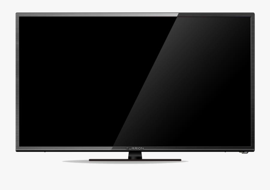 Flat Screen Tv Vector - Tv Led Png, Transparent Clipart