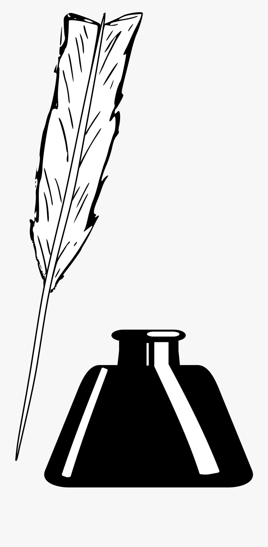 Inkwell Clipart, Transparent Clipart