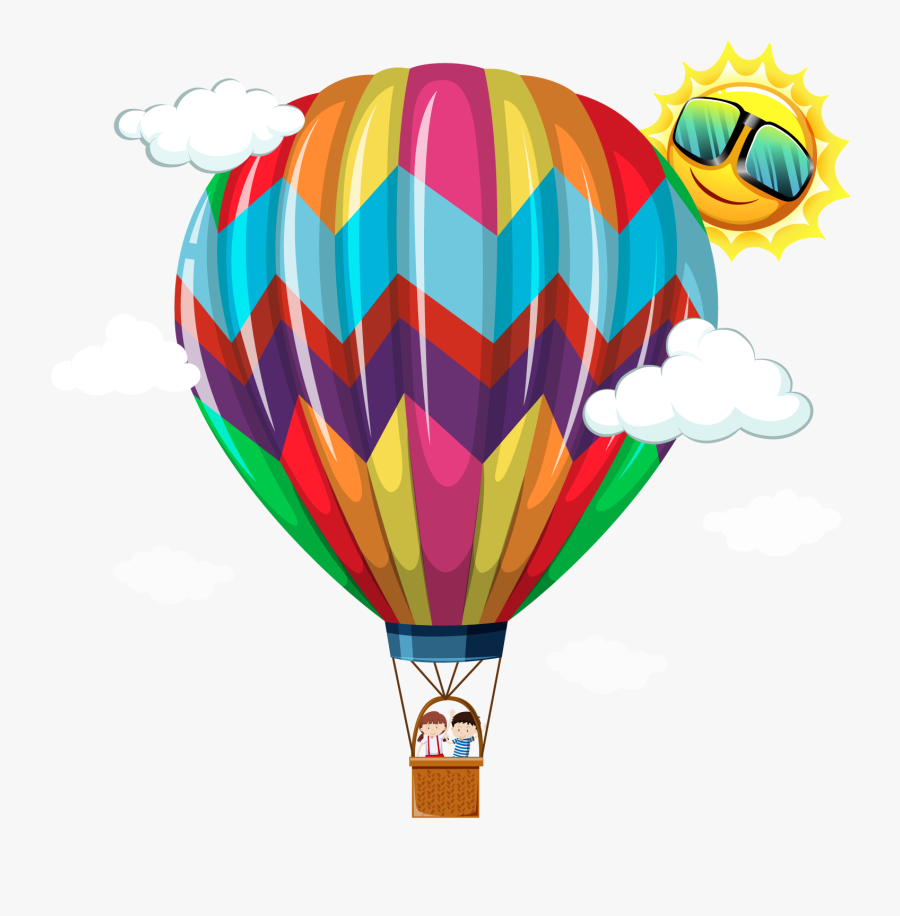 Vector Hot Air Balloon 1600*1600 Transprent Png Free - H Is For Hot Air Balloon, Transparent Clipart