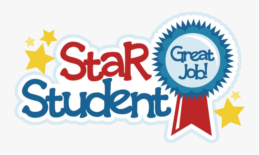 Star Student Mrs Hagood& - Best Student Clipart, Transparent Clipart