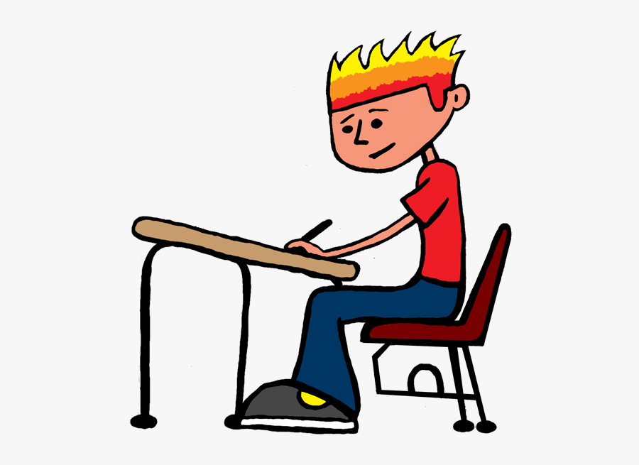 Boy Student Clipart Free Images - Hard Working Student Clipart, Transparent Clipart