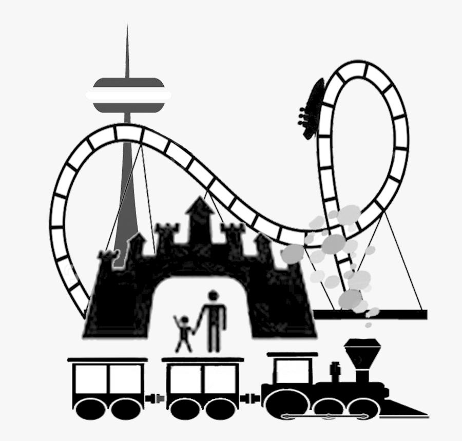 Amusement Park Clip Art - City Of South Lake Tahoe Logo, Transparent Clipart