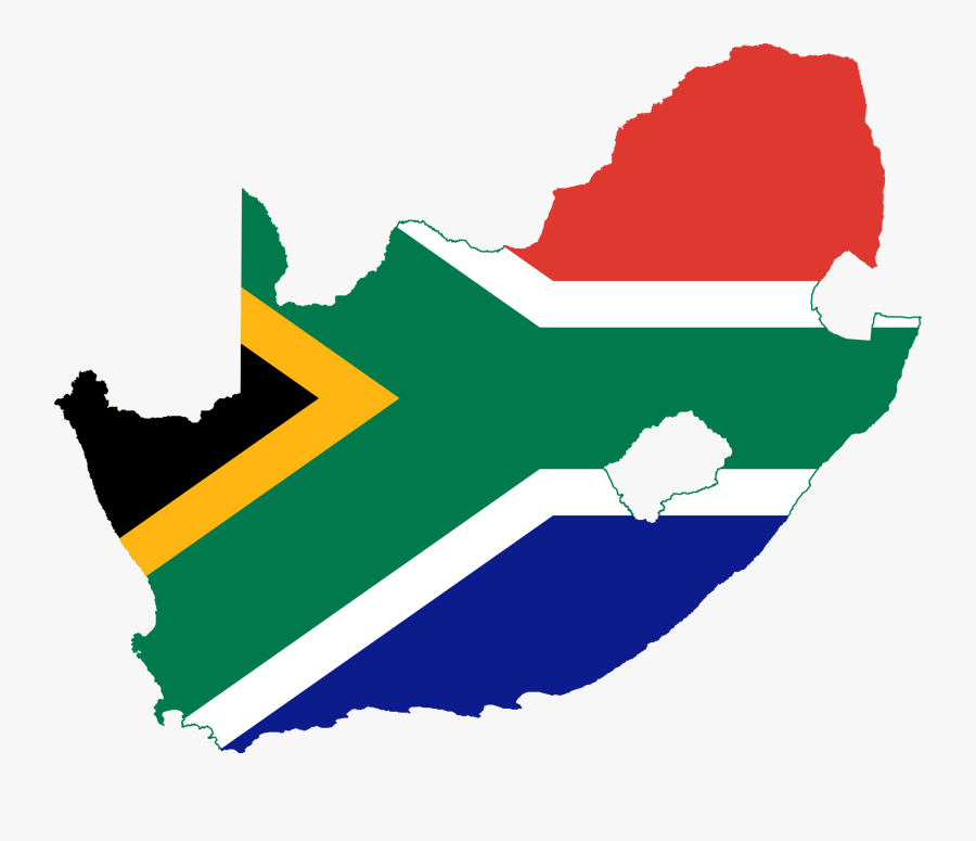 Map Clip Art Clipart Clipartbold 3 Clipartcow - South Africa Flag Map, Transparent Clipart