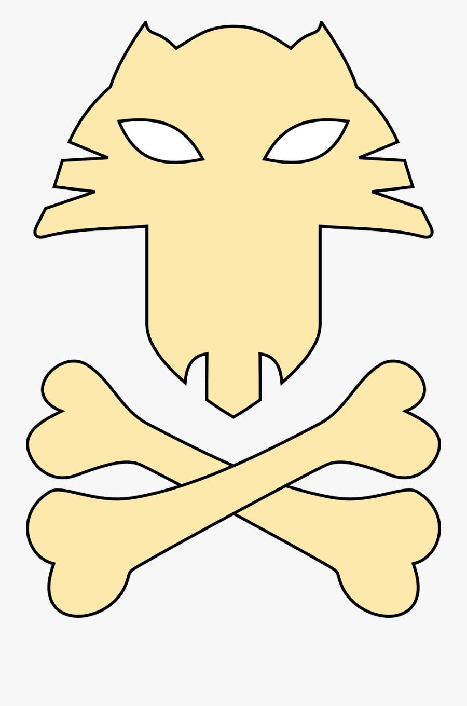 Mechanic Pirate Clipart, Vector Clip Art Online, Royalty - Cat Jolly Roger, Transparent Clipart