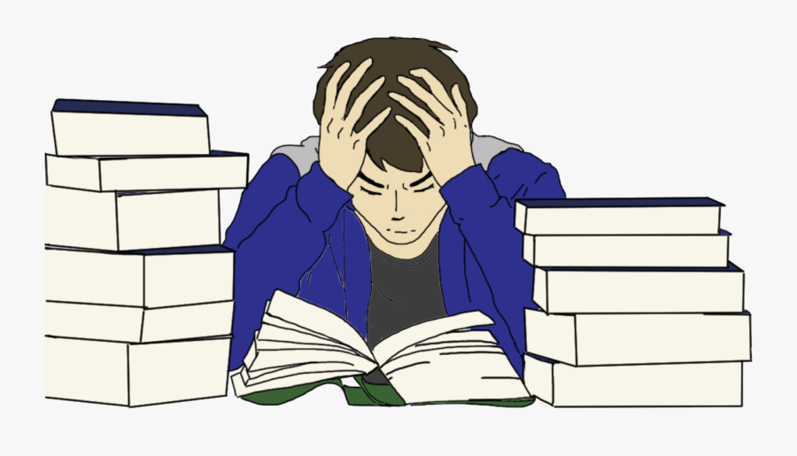 Picture Free Stock Stanford Survey Results Allow For - Stressed Student Clip Art, Transparent Clipart