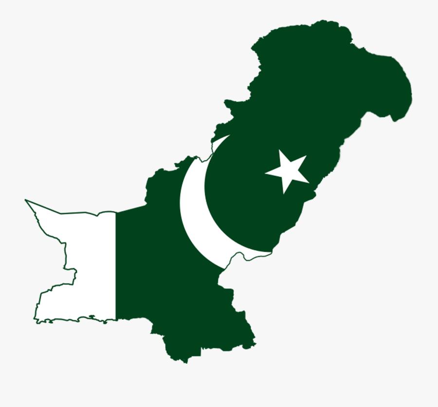 Pakistan Flag Png Picture - Pakistan Flag Map Png, Transparent Clipart