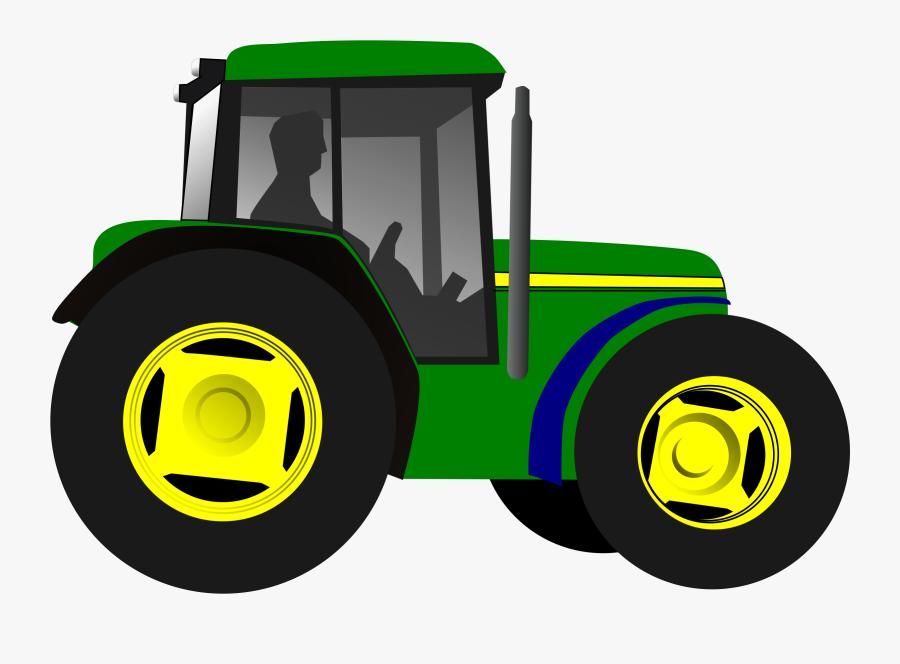 John Deere Tractor Animation, Transparent Clipart