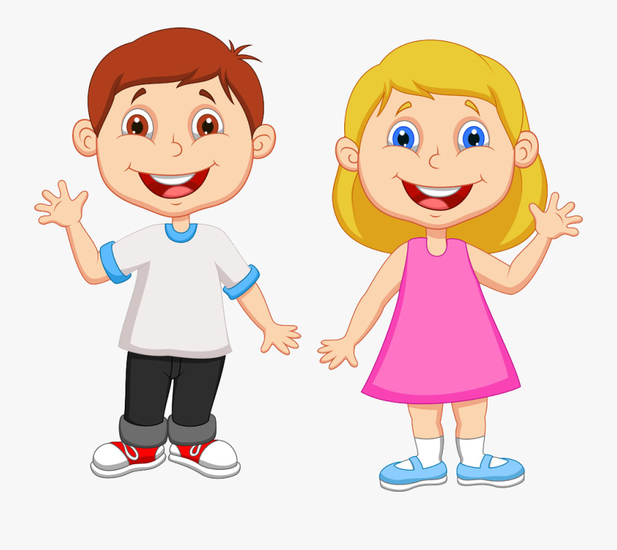Banner Freeuse Library Clipart Student - Boy And Girl Clipart Png, Transparent Clipart
