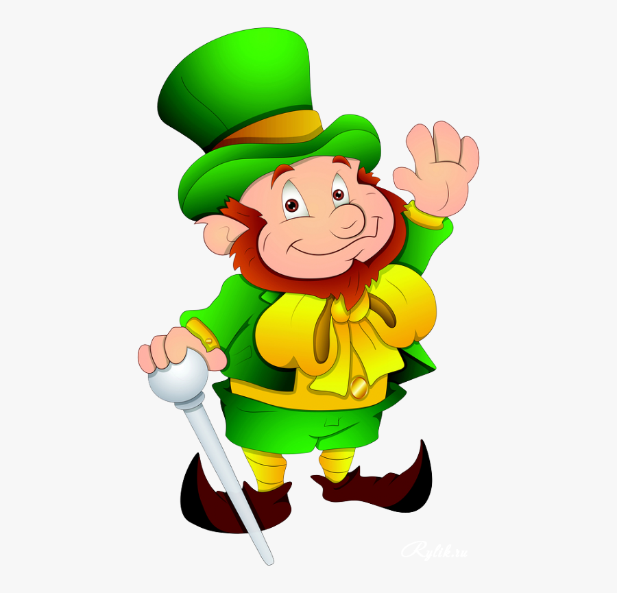 St Patrick's Day Character, Transparent Clipart