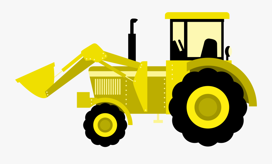 John Deere Agriculture Graphics Yellow Transparent - Clipart Tractor Png, Transparent Clipart