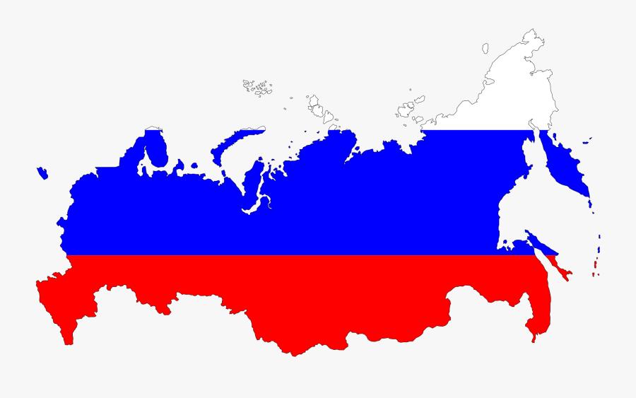 Russia Flag Map Drapeau Bandiera Bandeira Flagga Flagartist - Russia Map Flag Clipart, Transparent Clipart