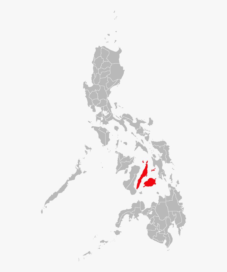 Transparent Philippines Map Clipart - Philippine Map Outline Png, Transparent Clipart
